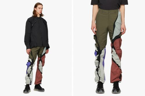 Post Archive Faction's 3.0 Left Trousers Features an Asymmetric Paneled Construction