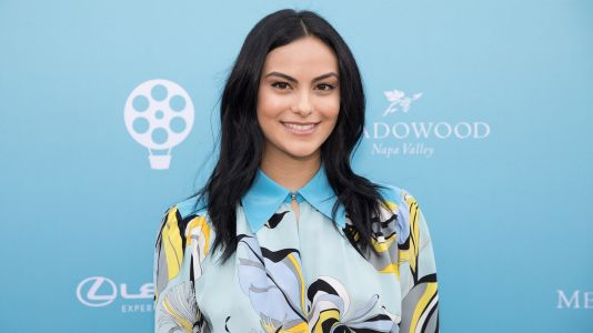 Camila Mendes Uses A Pancake To Blend Her Makeup And We Can't Stop LOLing