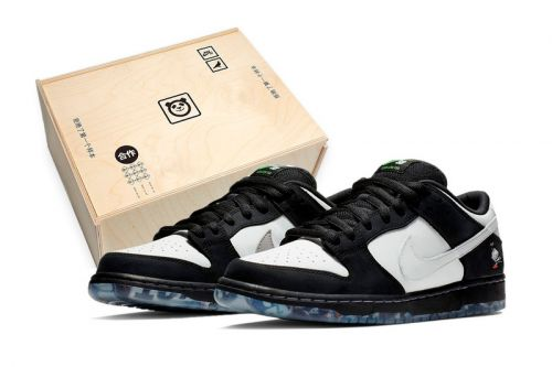 "Nike's SB Dunk ""Panda Pigeon"" to Be Packaged in Special Wooden Box"