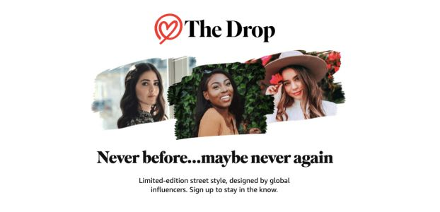 Amazon Introduces 'The Drop' Featuring Limited Edition Collections Designed by Global Influencers