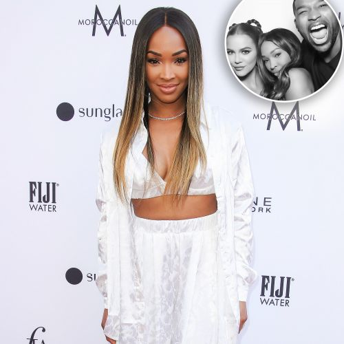 No Bad Blood! Khloe Kardashian's BFF Malika Haqq Shares a Photo With Tristan Thompson