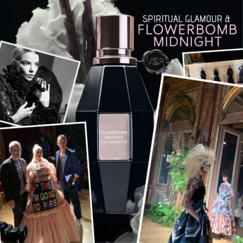 Spiritual Glamour and Flowerbomb Midnight