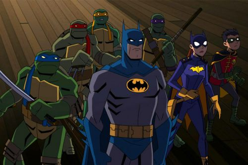Batman is Joining the Teenage Mutant Ninja Turtles in New Animated Crossover
