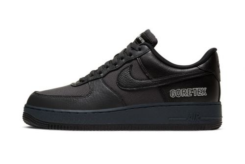 "Nike Air Force 1 GORE-TEX Drops in ""Anthracite/Barely Grey/Black"""