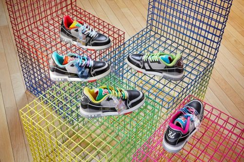 Louis Vuitton Reveals SS21 LV Trainer Upcycling Collection