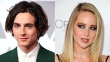 Jennifer Lawrence Is Thirsting After Timothée Chalamet: 'He's Hot'