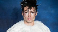 Ezra Miller Channels Hedwig But Makes It Fashion On 'Fantastic Beasts' Red Carpet