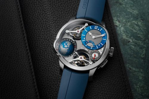 Greubel Forsey Gives GMT Quadruple Tourbillon a Bold New Look