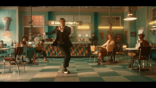 Pedro Pascal Performs Dance Number for Happy Socks Holiday '18 Campaign