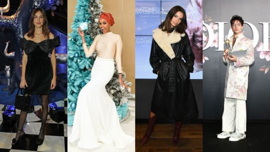 This Week's Best Dressed Celebs Provided All the Holiday Party Outfit Inspiration You'll Need