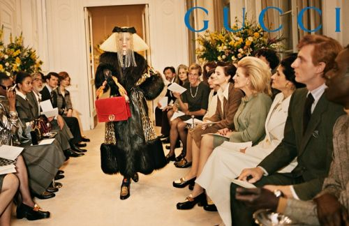 Gucci's new campaign is a fashion throwback extravaganza