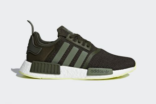 Adidas Mixes Neon With Night Cargo on the NMD R1
