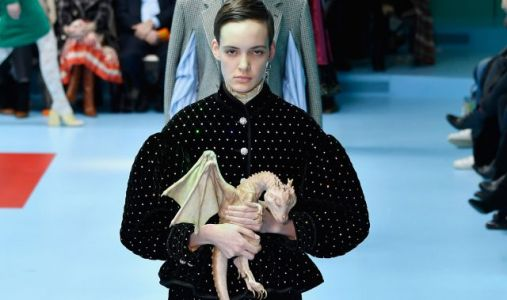 This Model Was the Mother Of Dragons At Gucci