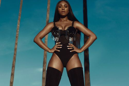 """Ex-Fifth Harmony Singer Normani Connects with 6LACK for """"Waves"""""""