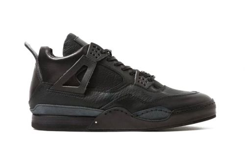 Hender Scheme Remakes the Air Jordan 4 in Luxe Black Leather