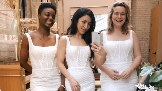 In a Social Distancing Climate, Traditional Bridal Shopping Is Going Virtual