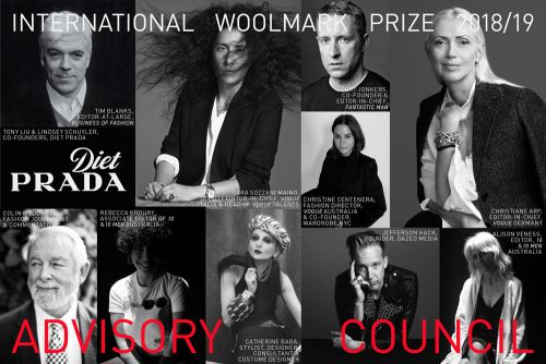 International Woolmark Prize Announce Advisory Council And Nominees