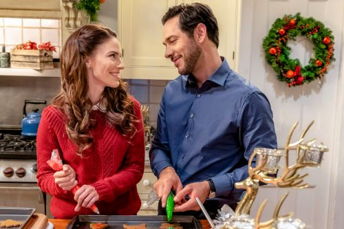 Hallmark isn't the only network with cheesy holiday movies
