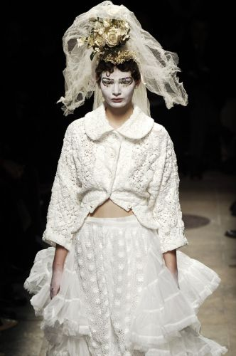 Looking back at Comme des Garcons' Broken Bride AW05 collection