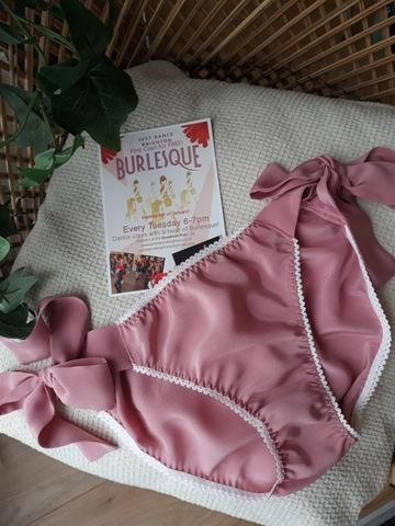 Burlesque classes and lingerie to tease - the perfect combination
