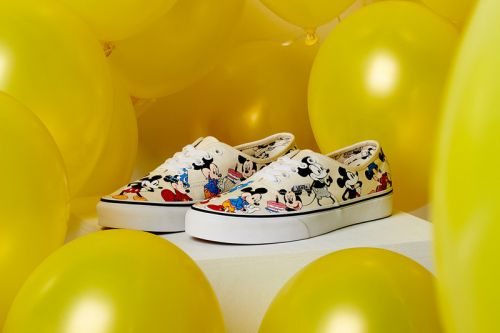 Vans & Disney Continue Mickey Mouse Collaboration With Holiday 2018 Capsule
