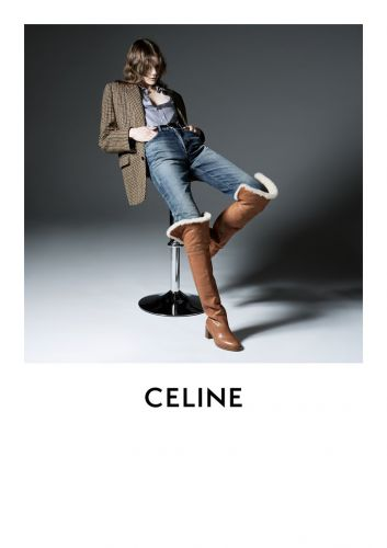 Hedi Slimane's second campaign for Celine is here