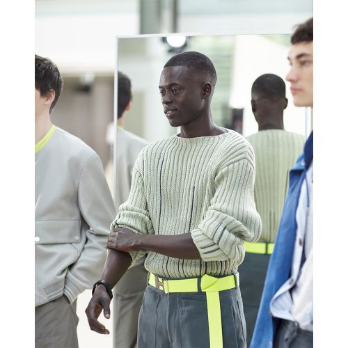 Enter The Madness of Hermès Backstage With SS21 Menswear Film