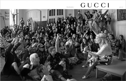 Gucci Unveil Their Protest Themed 2018 Pre Fall Campaign