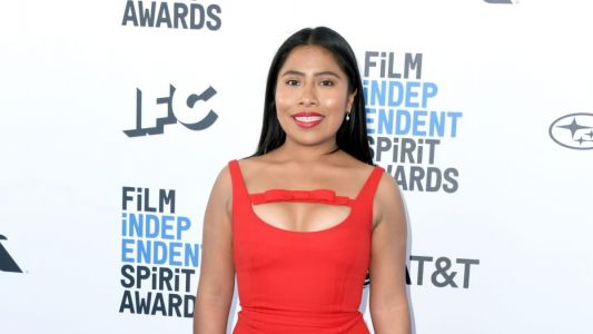 Great Outfits in Fashion History: Yalitza Aparicio in Red Miu Miu