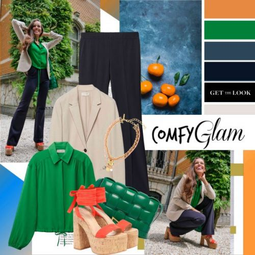 My Look: Comfy Glam