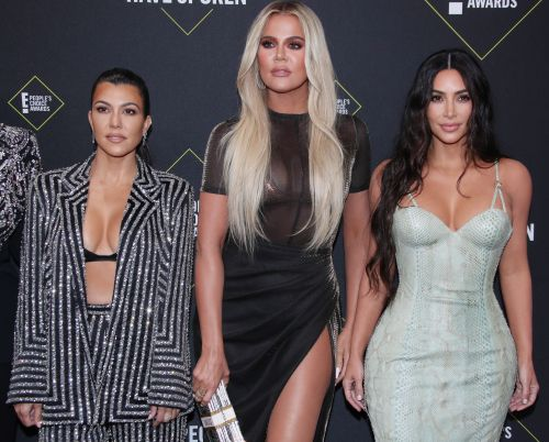 Kourtney Kardashian Reveals She's 'Uncomfortable' Being 'Affectionate' With Her Sisters