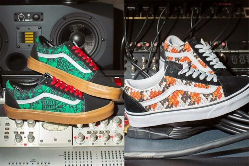 Vans Gives Denzel Curry and CHIKA Their Own Custom Old Skool Colorways