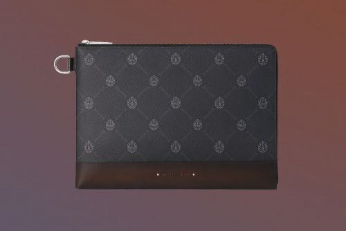 Ten Loves: Berluti Nino Canvas Clutch