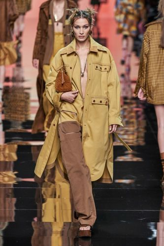Fendi's sunshine-filled SS20 show was a symbolic step into the future