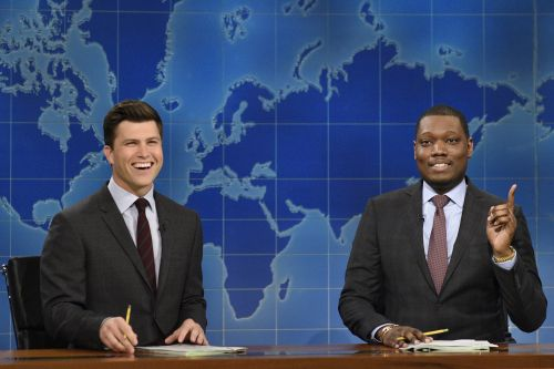 Colin Jost and Michael Che won't save the Emmys