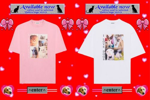 """Balenciaga's """"I LOVE PETS"""" Capsule Is Here To Save Our Four-Legged Friends"""