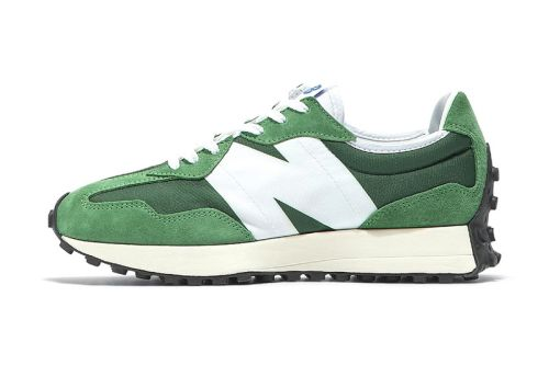 New Balance's 327 Given a Crisp Green and White Update