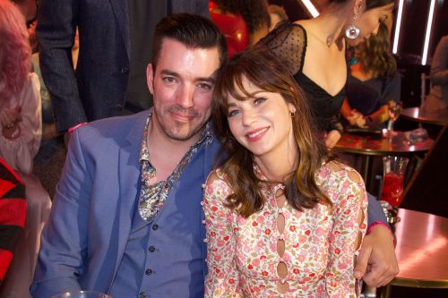 Zooey Deschanel Celebrates 40th Birthday With Jonathan Scott at '80s-Themed Party