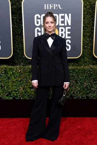 Judy Greer's Tuxedo Is My Favorite Fashion Moment of the 2019 Golden Globes
