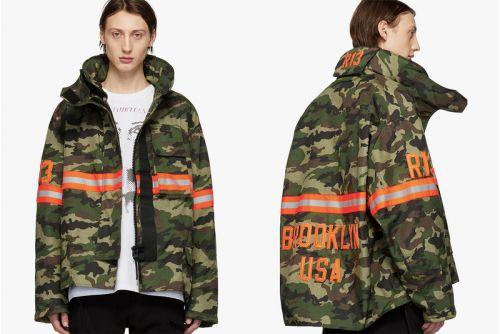 R13 Reworks Classic Fireman Jackets for SS19