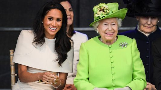 Oops! Meghan Markle and Queen Elizabeth Had an Awkward Car Moment During Their First Solo Outing
