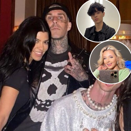 Everything Travis Barker's Kids Landon and Alabama Have Said About His Relationship With Girlfriend Kourtney Kardashian