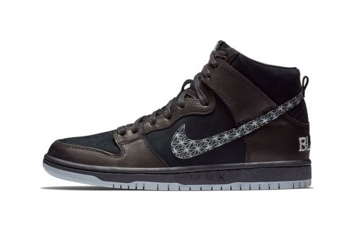 Nike SB Taps Black Bar for Latest Dunk High Collab