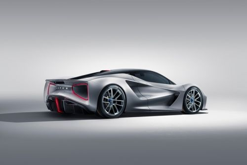 The Lotus Evija Becomes World's First Fully-Electric Hypercar
