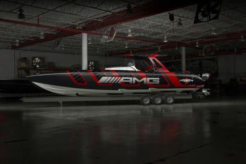 Mercedes-AMG & Cigarette Racing Team up for 'Carbon Edition' Speedboat