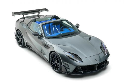 """Mansory Gives the Ferrari 812 GTS a Carbon Fiber-Fitted """"Stallone"""" Overhaul"""