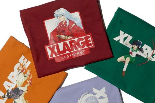 XLARGE Takes Us Through the Bone Eater's Well for An Inuyasha T-Shirt Capsule