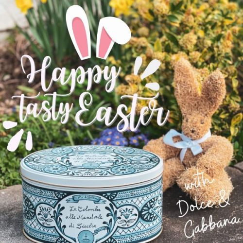Happy Tasty Easter with Dolce & Gabbana