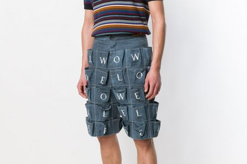 Loewe Drops Multi-Pocketed Logo Shorts for Spring/Summer 2018