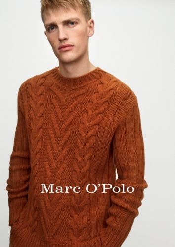 Victor Dons Casualwear from Marc O'Polo Fall '20 Collection